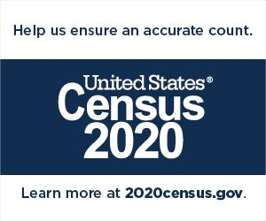 Help us ensure an accurate count. 2020census.gov