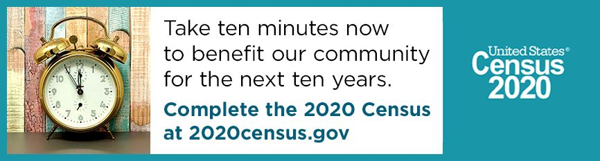 Take ten minutes to complete the census